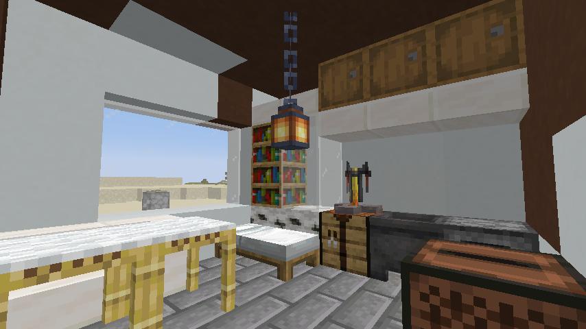 Minecrafterししゃもがマインクラフトで作ったデータパック「建てといて君」の紹介をする15