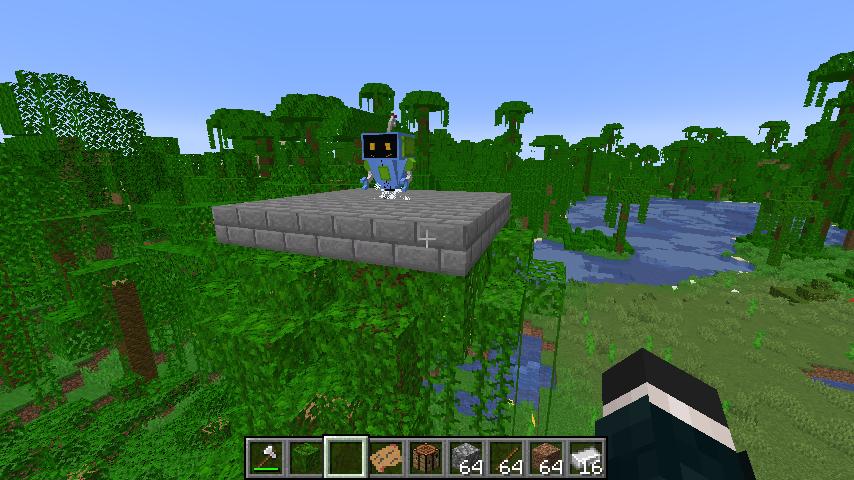 Minecrafterししゃもがマインクラフトで作ったデータパック「建てといて君」の紹介をする16
