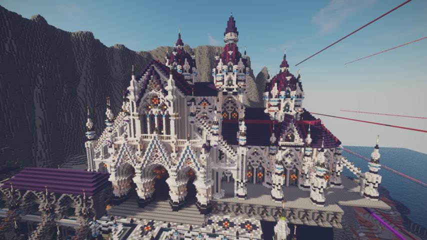 さばちゃんぽん2021に参加させてもらって、ファンタジーな城作ってる話1