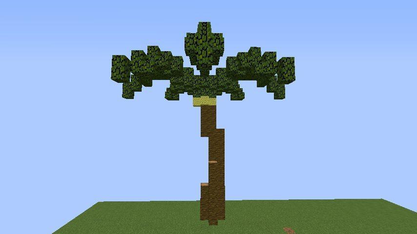 ヤシの木【マインクラフト】